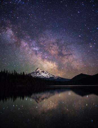 Lost Lake Milky Way - Vertical