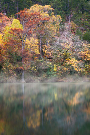 Autumn Reflections - Broken Bow