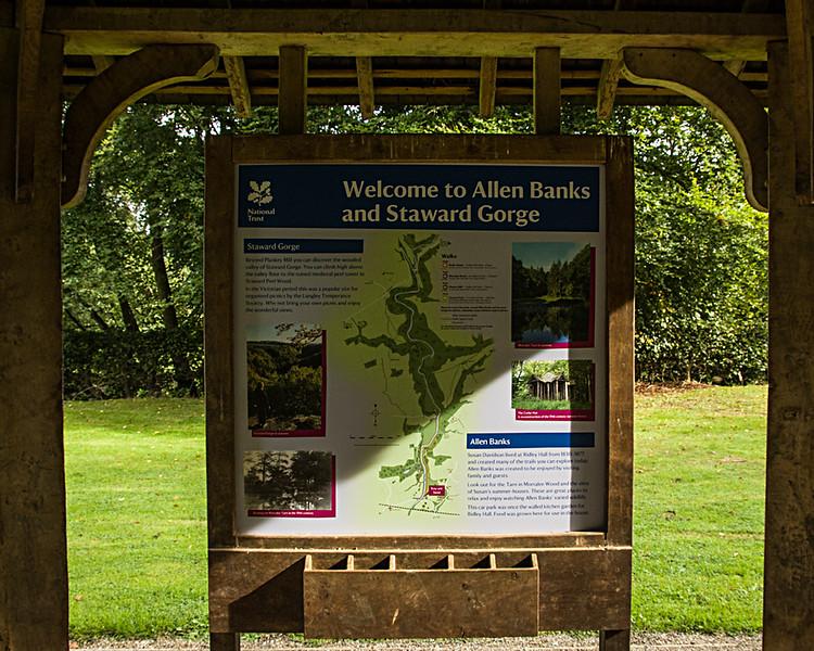 Allen Banks and Staward Gorge