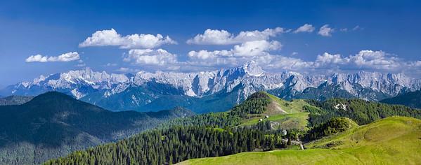 Alpi Giulie dall'Osternig - foto n° 280505-522514