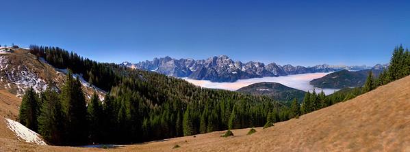 Alpi Giulie, notturno dall'Acomizza 231215-010436