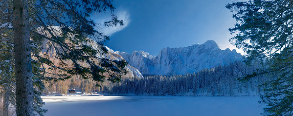 Primo Lago di Fusine - Mangart - Alpi Giulie