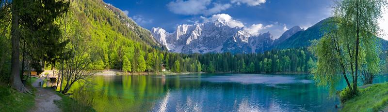 Primo Lago di Fusine - Mangart - Alpi Giulie - foto n° 140508-780146