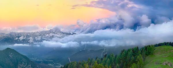 Gruppo delle Ponze e Mangart, versante italiano - foto n° 180607-83058405