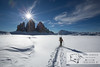 December 30, 2012 - January 1, 2013: Winter hike in the Dolomites