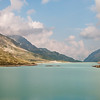Lago Bianco on the Bernina pass