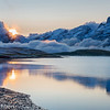 Sunrise over Tannensee and Titlis