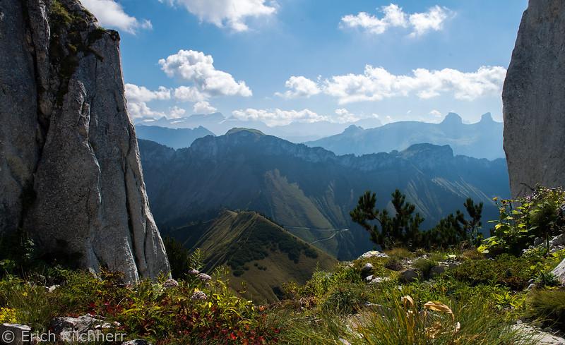 View from La Rambertia, Rochers de Naye