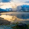 Tannensee at dawn
