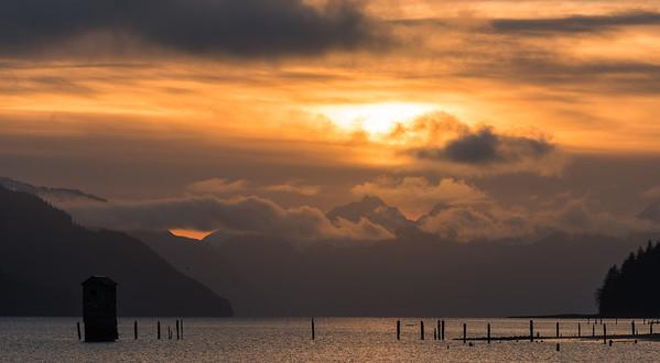 Juneau  Alaska Sunrise