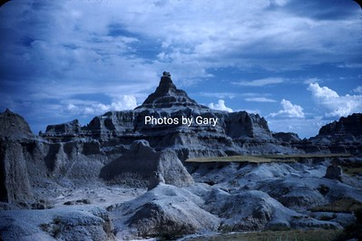 Badlands National Park 1950