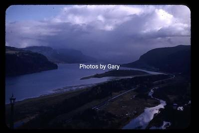 Columbia River Gorge 1950