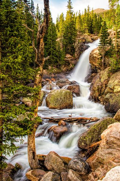 Alberta Falls Flowing