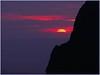 Sunset @ the Window, Big Bend Nat'l Park, Chisos Mtns , 5-25-05