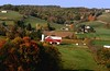 Walnut Creek, Ohio, Oct 2007.  The pristine and power pole free landscape of Amish country.