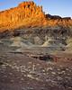 Sunrise, sandstone mesa