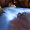 Deep in Zion Narrows, Zion National Park