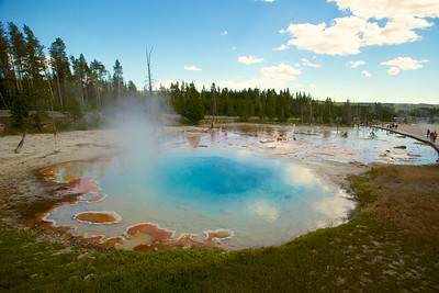 Hot Spring in Yellowstone