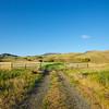 Gravel Road in Ranch Land