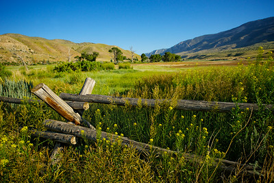 Old Rail Fence in West