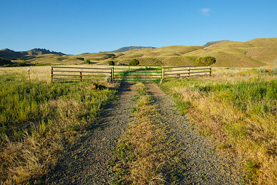 Road to Ranch Land