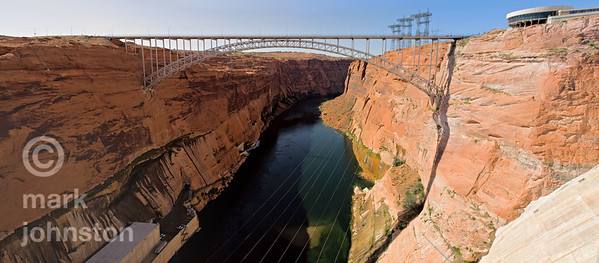 Glen Dam Bridge and Colorado River