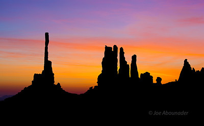 Morning Daggers - Monument Valley - April 2011.