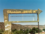 Courtesy Photo  <br /> Town leaders in Naturita have mounted a campaign to refurbish and resurrect the old Uranium Drive-In sign, an icon of the town's past when the West End community was part of the uranium boom.