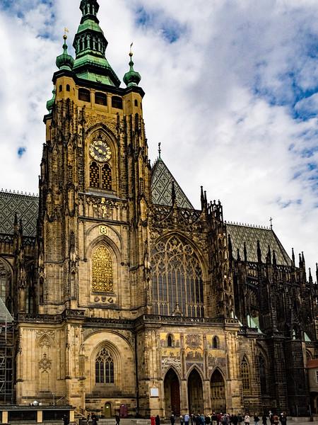 Clock Tower, St. Vitus Cathedral, Prague