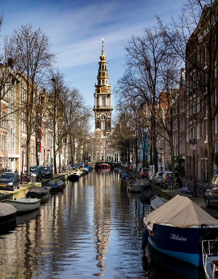 Zuiderkerk taken from Staalstraat
