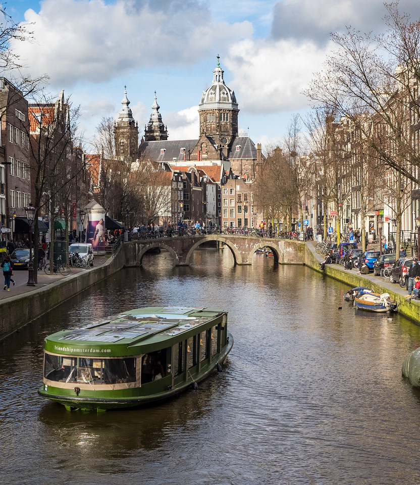 Amsterdam canal: Red Light district