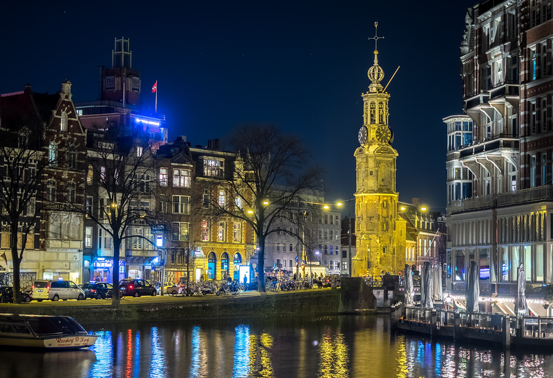 Amsterdam and the Munttoren