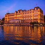 """InterContinental Amstel Amsterdam at Blue Hour"", Amsterdam, Netherlands"