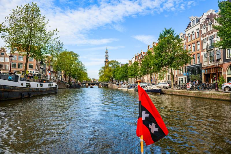 """Amsterdam Canals in Summer #3931""   Amsterdam, Netherlands"