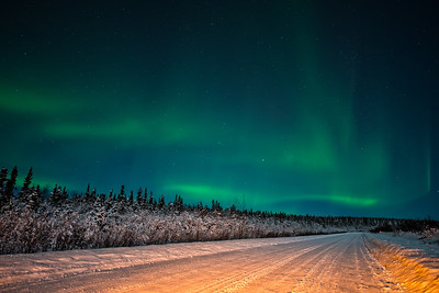 Aurora over Fairbanks