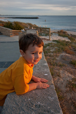 An evening at Cottesloe