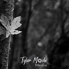119  G Maple Leaf on Tree BW
