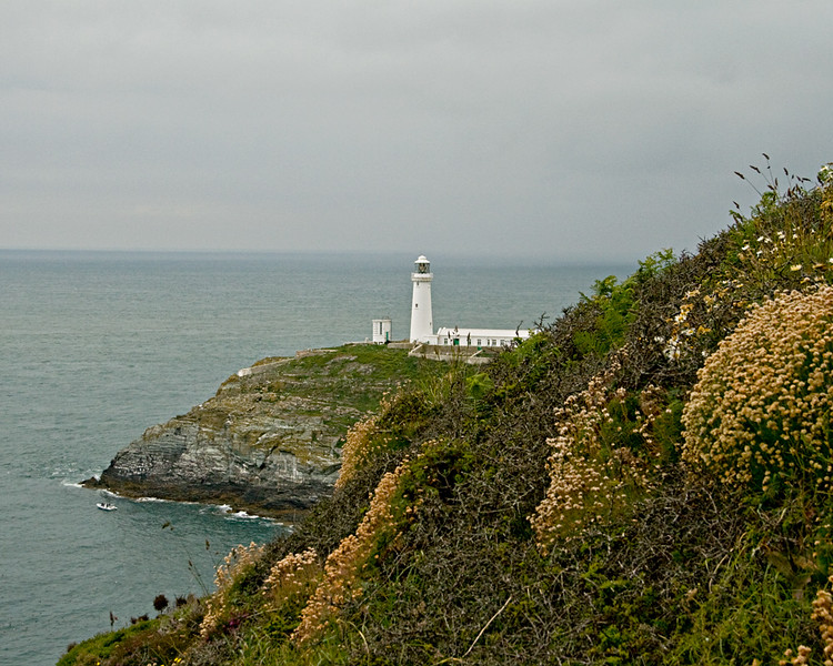 South Stack lighthouse and RSPB Centre