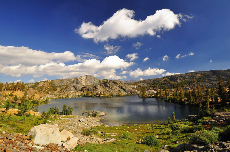 Emerald Lake, Ansel Adams Wilderness.