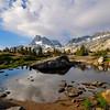 Banner Peak, North Glacier Pass, Mt. Davis, Ansel Adams Wilderness.