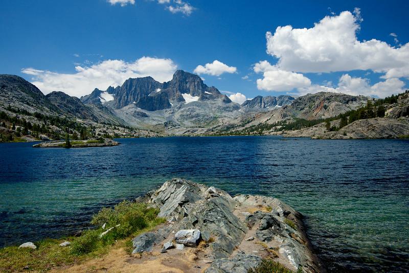 Garnet Lake, Mt. Ritter, Banner Peak, Ansel Adams Wilderness