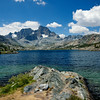 Garnet Lake, Mt. Ritter, Banner Peak, Ansel Adams Wilderness