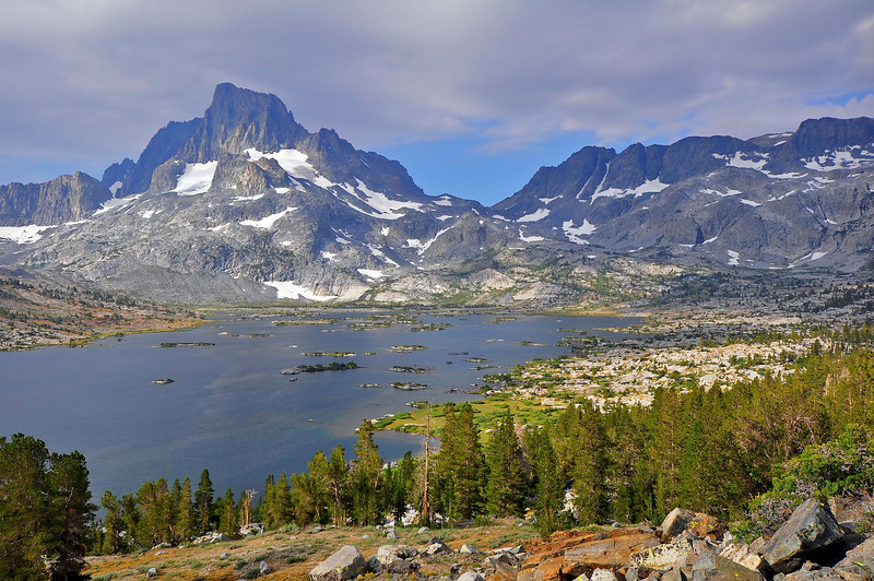 Thousand Island Lake, Banner Peak, Ansel Adams Wilderness.