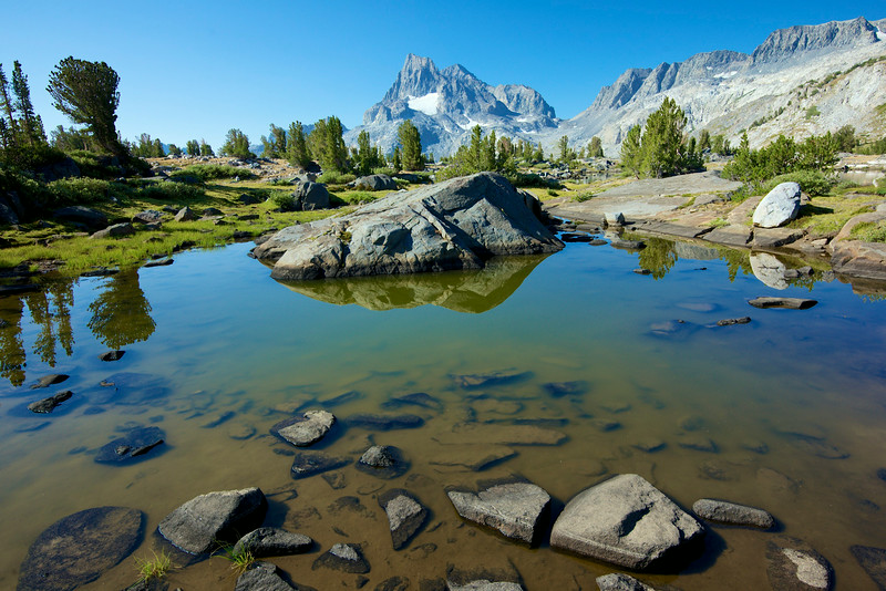 Island Pass, Banner Peak, Ansel Adams Wilderness