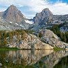 Mt. Ritter & Banner Peak, Lake Ediza, Ansel Adams Wilderness