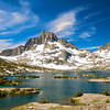 Thousand Island Lake, Banner Peak, Ansel Adams Wilderness