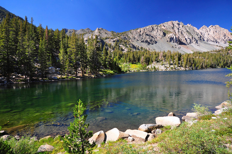 Purple Lake, John Muir Wilderness.