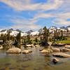 Ritter Range, from Island Pass, Ansel Adama Wilderness