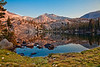 Graveyard Lake Ansel Adams Wilderness: Sunrise after Storm Cleared