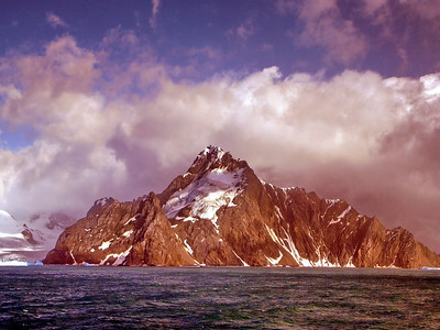 Elephant Island in the Antarctic's South Shetland Islands